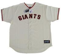San Francisco Giants MLB Majestic Ivory Big & Tall Home Men's Replica Jersey
