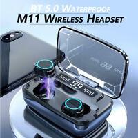Bluetooth 5.0 Earphones Headset Wireless Stereo Earbuds Headphones IPX7 TWS HIFI