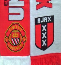 2017 Europa League Final Scarf Manchester United v Ajax Scarves / Memorabilia