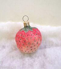 Christopher Radko Ornament Strawberry #943330 Fruit 1994 New (R5)