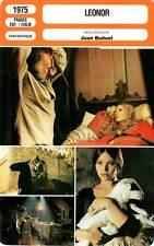 FICHE CINEMA : LE LEONOR - Piccoli,Ullmann,Muti,Bunuel 1975