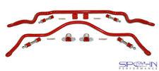 82-92 Camaro/Firebird Spohn 4140 Chrome Moly Sway Bar Set Front & Rear BLACK