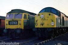 British Rail 47367 & 40105 Toton Depot Nottingham Rail Photo