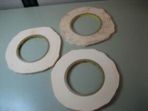 "3M Scotch High Performance Fine Masking Tape 1/4"" - LOT OF 3"