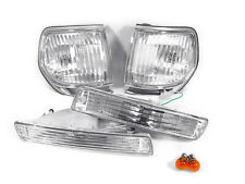 1991-1997 TOYOTA LAND CRUISER FJ80 DEPO CLEAR CORNER LIGHTS + BUMPER SIGNALS