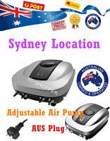 Resun 640L/H OZ Plug Aquarium Air Pump Adjustable Oxygen Pump 4 Outlets For Fish