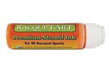 Racquet Art Premium Stencil Ink - Water Based - Orange