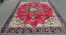 Weaver Signed Old Persian Tabriz Oriental Room Size Rug / Carpet 9.1 x 12.1 Nice