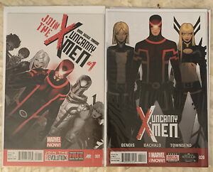 Uncanny X-Men 1-35 600 Complete Comic Lot Run Set Marvel Bendis Bachalo
