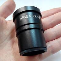 WF10X/22 Stereo Microscope Eyepiece High Eyepoint Wide Field w/ Mount size 30mm