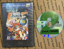.hack MUTATION Part 2 Sony PS2, 2003 with Anime CD Case Game Dot hack Liminality