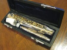 Brand New Clairmont Piccolo Flute, Gold Plated Body & Keys! MSRP $780