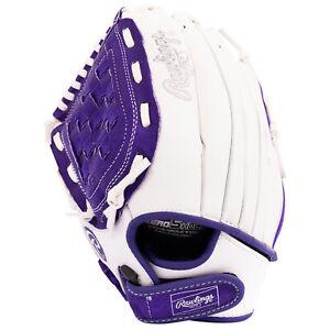 """Rawlings 11.5"""" Girls Fastpitch Softball Glove Infielder Pitcher Left Hand Throw"""