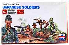 ESCI ERTL #204 - 1/72 scale World War Two Japanese Soldiers - mint boxed set