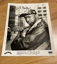 Look G Rap Autograph Vintage Hip Hop Rap Epic 1995