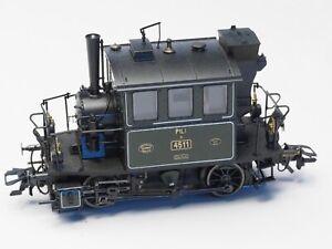 Märklin 36861 H0-gauge Digital Steam Locomotive PtL 2/2 Glaskasten Bavarian RR