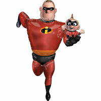 Mr Incredible Airwalker Foil Balloon - Requires Helium To Stand