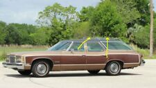 NOS NEW - ROOF RACK SIDE RAILS - LH FRONT AND SIDE - 1971-76 GM FULL SIZE WAGON
