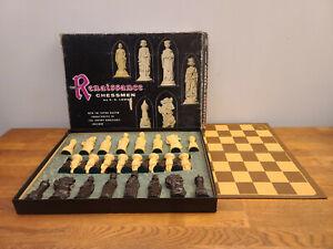 VTG 1959 Renaissance Chessmen Set by ES Lowe #832