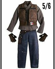 Disney Store Star Wars Jyn Erso Costume for Kids Girls Size 5/6