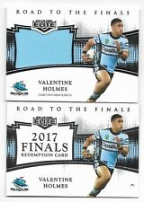2018 NRL Elite Road To The Finals (RF 3) Valentine HOLMES Sharks 136/165