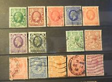 """New listing (14) Vintage """"Great Britain"""" Stamps (1910's - 1930's) George V = Used"""