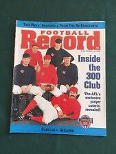 Vintage VFL/AFL 1996 Football Record Carlton V Geelong