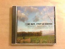 CD / GEORGES PACZYNSKI TRIO / LE BUT C'EST LE CHEMIN / NEUF SOUS CELLO