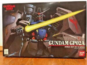 Mobile Suit Gundam 0083 No. 2 RX-78 GP02A 1/144 Plastic Model Bandai 1991