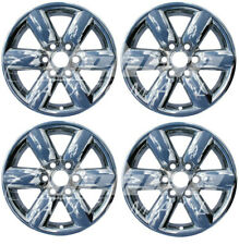 "18"" Chrome Wheel Skins Hubcaps FOR 2008-2015 Nissan Armada / Nissan Titan"