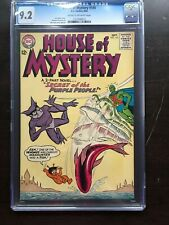 HOUSE OF MYSTERY #145 CGC NM- 9.2; CM-OW; Martian Manhunter! scarce!