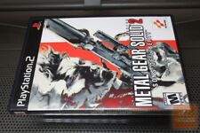 Metal Gear Solid 2: Sons of Liberty (PlayStation 2, PS2 2001) COMPLETE! - EX!