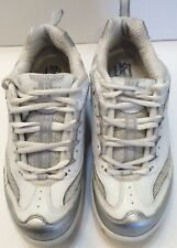 Sketcher Women Shape Ups Shoes Sz 7 Walking Toning Exercise Sneaker White Silver