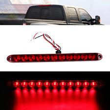 """1xTrailer Truck 11 Led 15"""" Red Rear Turn Tail Brake Light Stop Sign Warn Bar 12V"""