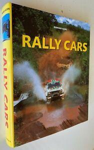 2000 1st RALLY CARS, REINHARD KLEIN, w 2000 PLATES, hardcover FREE EXPRESS W/W