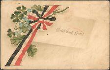 "Deutsche Feldpostkarte ""Grüß dich Gott"" Pinneberg 19.12.1915"