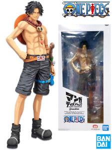 Banpresto One Piece Grandista Manga Dimensions Portgas D Ace Figure New In Stock