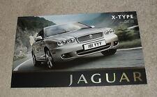 Jaguar X Type Range Price List 2007 2.0D 2.2D 3.0 V6 Sport Premium Sovereign