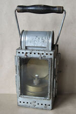 OLD GERMAN RAILROAD LAMP DEUTSCHE BAHN