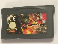 GODZILLA DOMINATION! Nintendo GameBoy Advance GBA SP MICRO UK/EU CART' Version