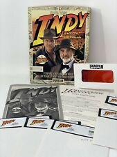 Indy Indiana Jones & the Last Crusade PC Game 5.25 Floppy Disks Big Box Complete
