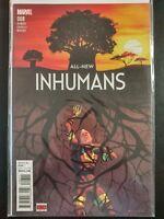 ALL NEW INHUMANS #8 (2016 MARVEL Comics) ~ VF/NM Book