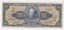 Brazil 200 Cruzeiros ND (1961)