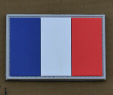 "PVC / Rubber Patch ""French Flag"" with VELCRO® brand hook"