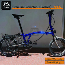 Ti Atom/Titanium Brompton Upgrade 7speed  folding bike