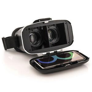 VR 3D-Brille für Samsung Galaxy S7 Edge S8 Plus Virtual Reality Brille Android