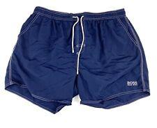 Hugo Boss Mens Size Large Lined Shorts Swim Trunks Blue Short Inseam