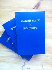 3x Bibel Neues Testament Russisch Russian НОВЫЙ ЗАВЕТ И ПСАЛТИРЬ 655 Seiten NEU