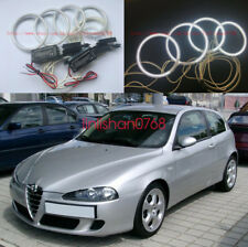 4pcs Excellent CCFL Angel Eyes kit Halo Rings For Alfa Romeo 147 2005 - 2010