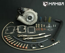 """MAMBA Ball Bearing Turbocharger 2.4"""" GT2554R For Nissan SD33T 3.3L + .42 T3 Hsg"""